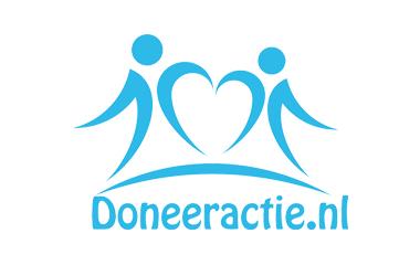 geef geld crowdfunding logo doneeractie.nl