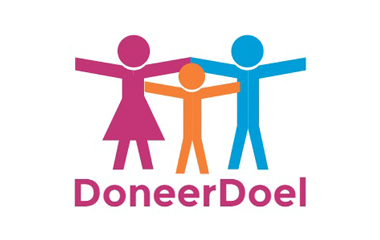 geef geld crowdfunding logo doneerdoel