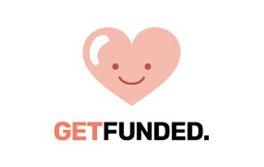 geef geld crowdfunding logo get funded