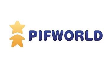 geef geld crowdfunding logo pifworld