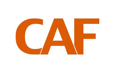 informatie geven logo CAF