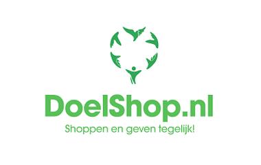 geef met shoppen logo doelshop.nl