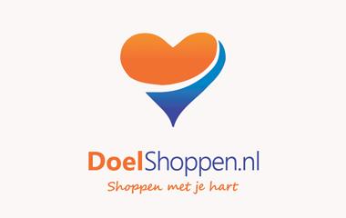 geef met shoppen logo doelshoppen.nl