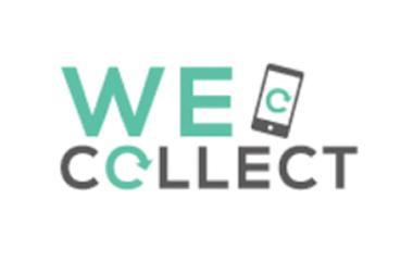 Geef spullen logo we collect